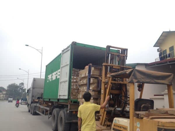 bốc xếp container giá rẻ